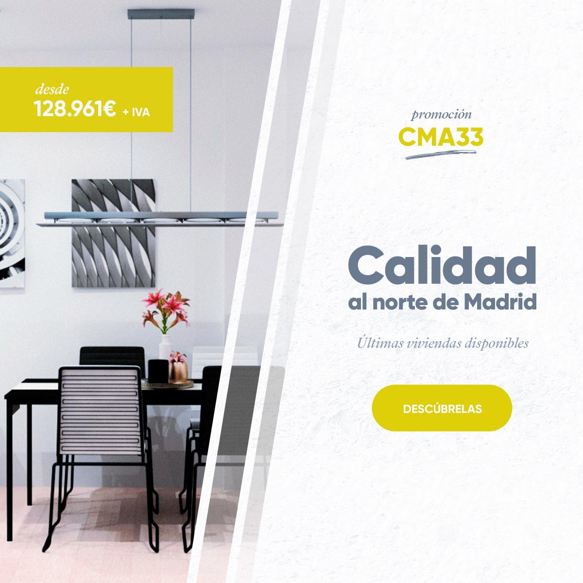 Promoción de pisos en Alalpardo. Un oasis cerca de Madrid